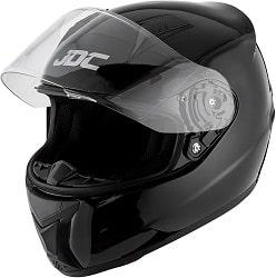 JDC Casco Integral Para Motocicleta Cascosintegrales - PRISM - Negro - XL.-min